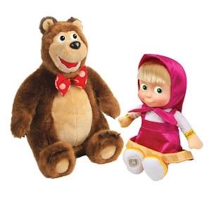 Миша и Маша разговаривают (м/ф Маша и медведь)